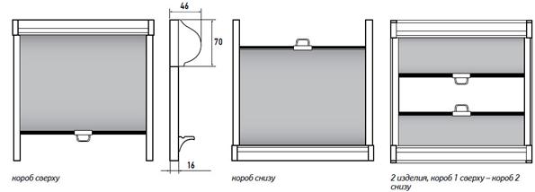 уни-2 с пружиной схема системы рулонных штор