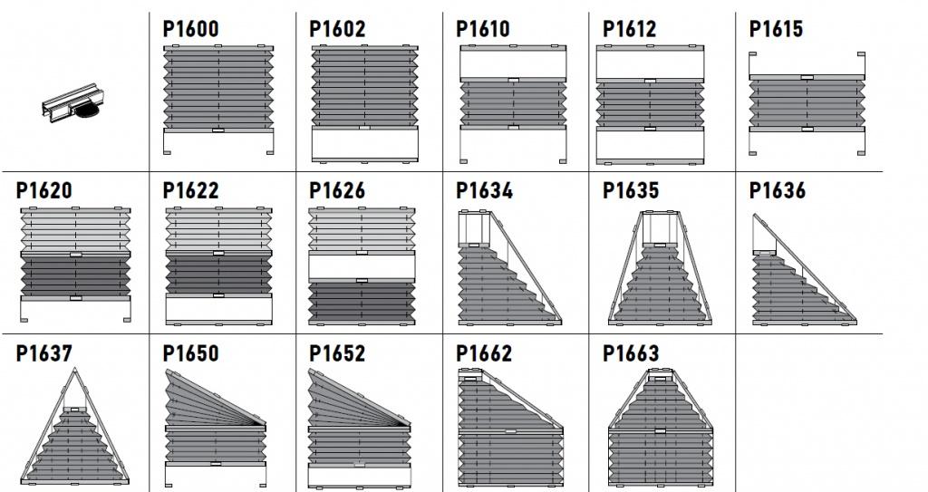 Шторы-плиссе данной серии предназначены для установки снаружи и внутри стандартных проемов, а также на поворотно-откидные окна с углом наклона до 15°