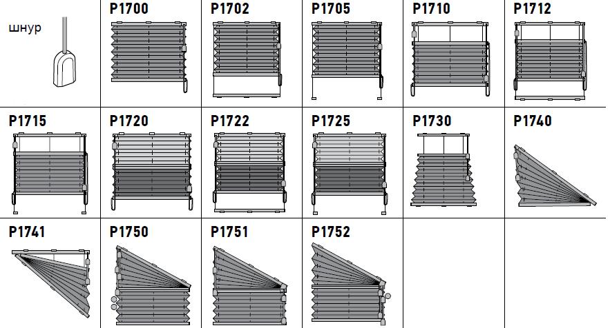 Шторы-плиссе данной серии предназначены для установки снаружи и внутри стандартных проемов, а также на поворотно-откидные окна с углом наклона до 15°.