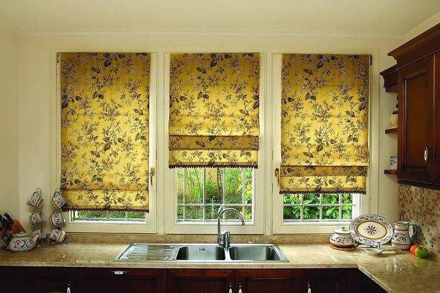 Римские шторы на пластиковые окна: производство, доставка, монтаж