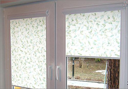 Красивое оформление: окна и рулонные шторы thumbnail